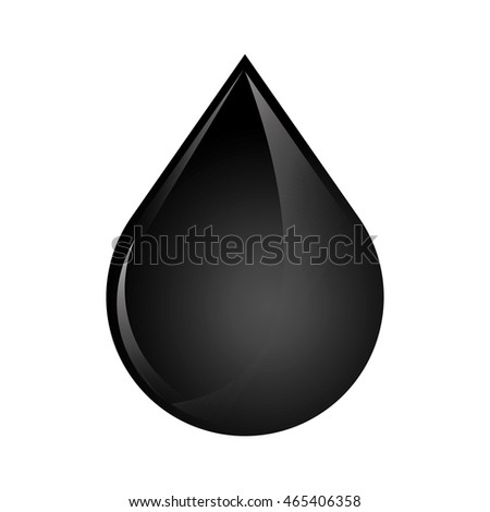 drop oil industry production petroleum icon. Isolated and flat illustration. Vector graphic