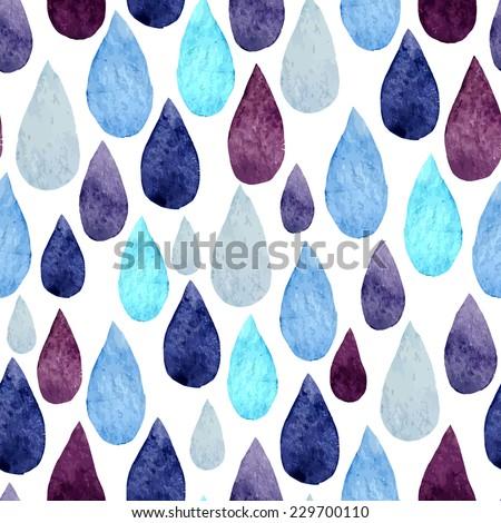 drop, watercolor, wallpaper - stock vector