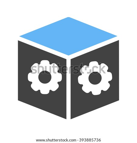Dropbox Settings Stock Vector 393885736 Shutterstock