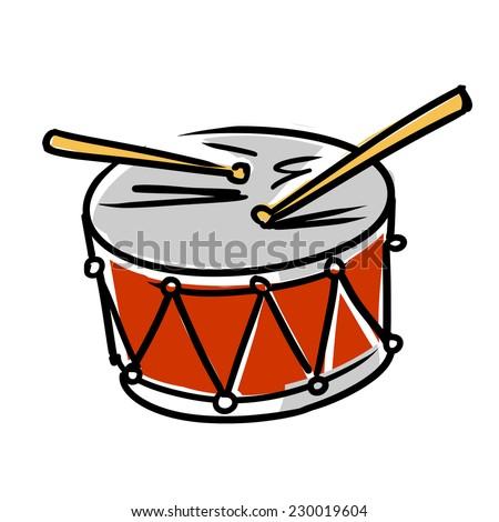 Drum Icon - stock vector