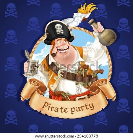 fat pirate stock images royaltyfree images amp vectors