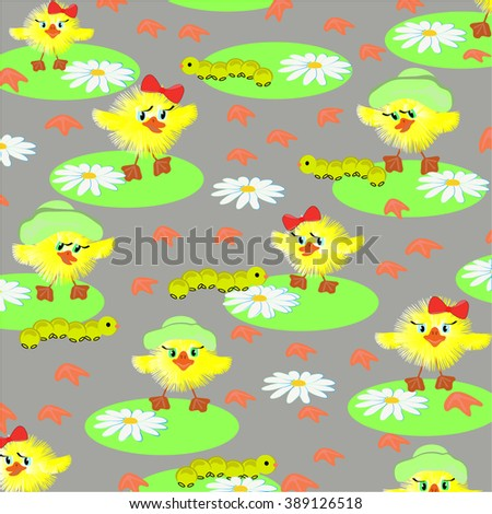 Ducklings background