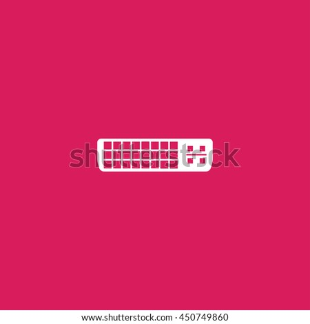 dvi icon. dvi sign - stock vector
