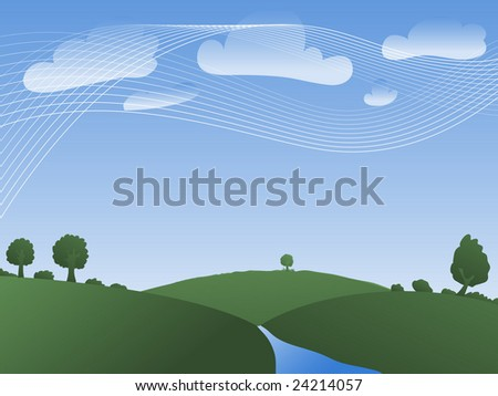 dynamic nature background