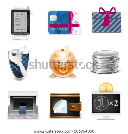 e-commerce and shopping - stock vector