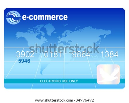 e-commerce payment vector illustration - stock vector