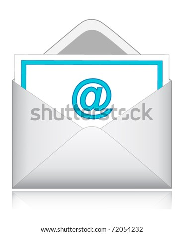 e-mail - stock vector