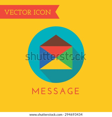 E-mail Icon Vector Logo. Shop, Money or Commerce and Computer symbol. Stock Design Element. - stock vector