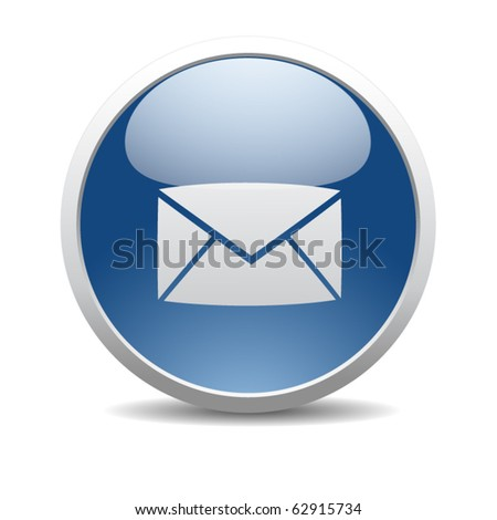 e mail internet icon - stock vector