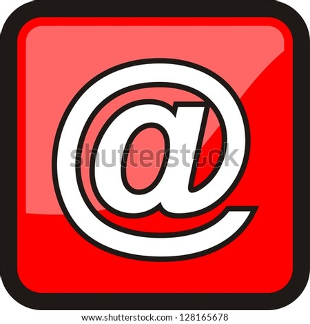 e- mail message, icon vector - stock vector