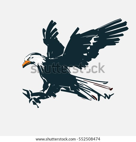 Eagle Silhouette Stock Images, Royalty-Free Images ...