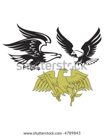 Eagle Group - stock vector