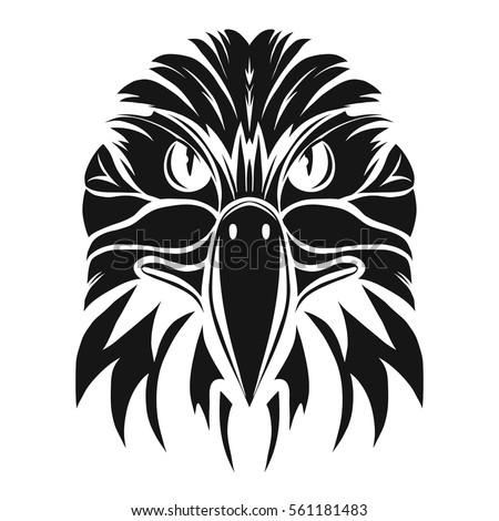 eagle head logo stock images royaltyfree images