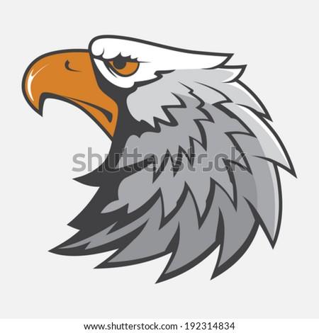 Eagle Head Mascot Image Vector Illustration - stock vector