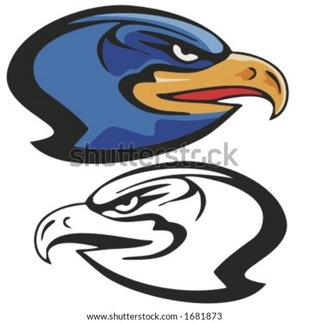Eagle Mascot For Sport Teams Stock Photos Royalty Free