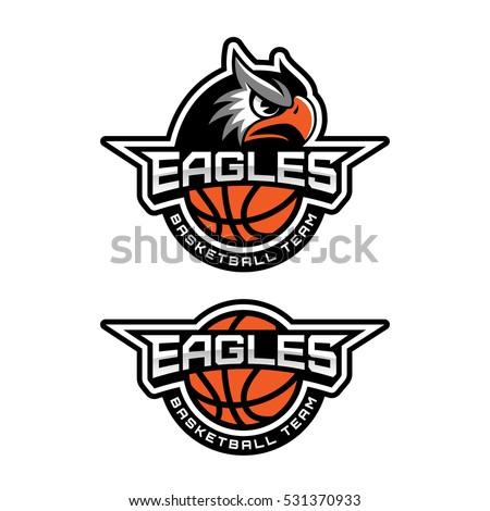 Basketball team logo
