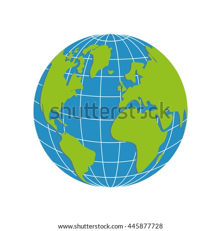World Globe All Cities Grid Lines Stock Illustration ...