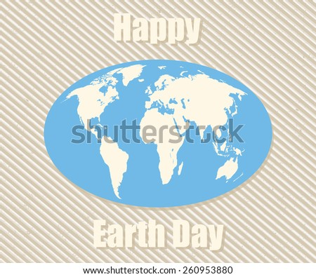 Earth Day - stock vector