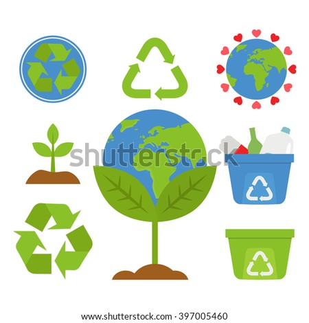 Earth Day / Recycle / Reuse / Reduce