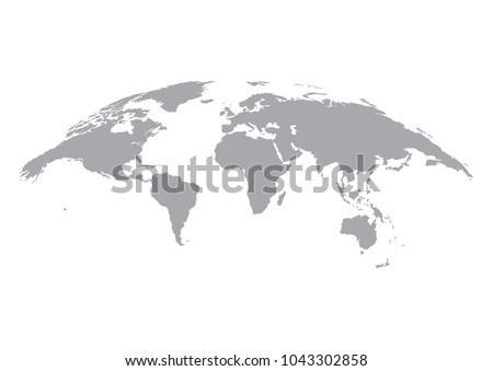 Earth globe icon vector world map vectores en stock 1043302858 earth globe icon vector world map isolated on white background gumiabroncs Gallery