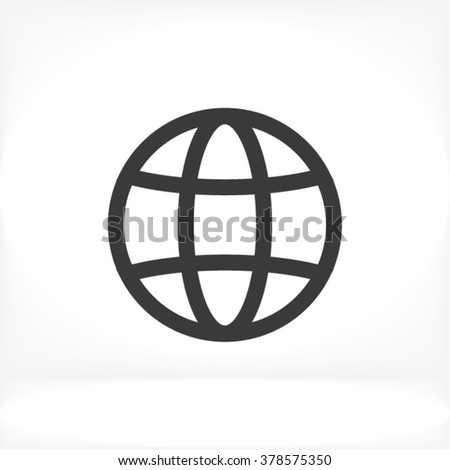 Earth Icon, earth icon flat, earth icon picture, earth icon vector, earth icon EPS10, earth icon graphic, earth icon object, earth icon JPEG, earth icon picture, earth icon image, earth icon drawing - stock vector