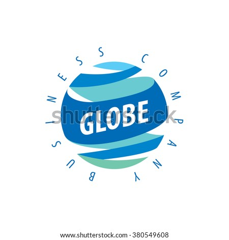 Earth  logo template. Globe sign - stock vector