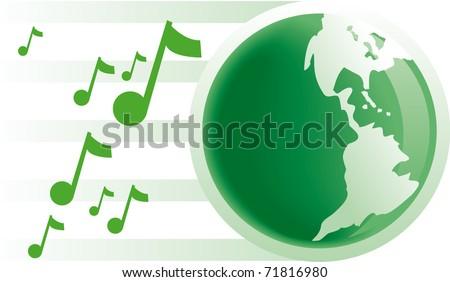 Earth planet - stock vector