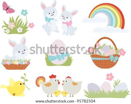 Easter - stock vector
