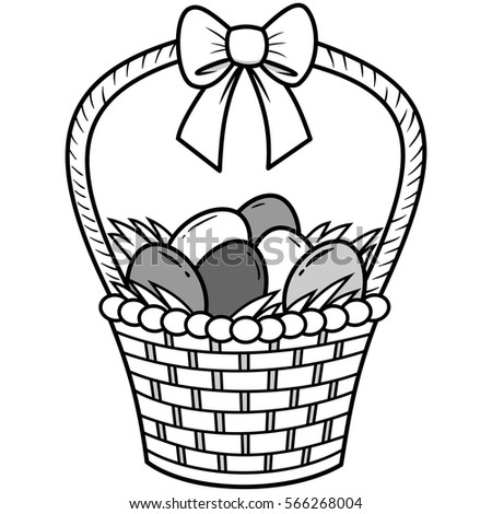 Easter Basket Ideas Stock Images Royalty Free Vectors