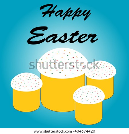 Easter collection - stock vector
