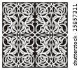 eastern ornament vector - stock photo