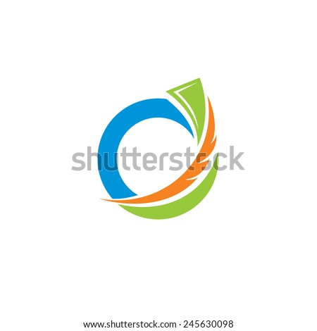 Easy payment abstract vector sign Branding Identity Corporate logo design template Isolated on a white background - stock vector