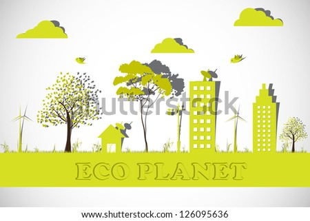 easy to edit vector illustration of