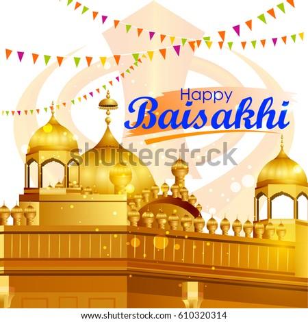 Punjabi culture stock images royalty free images vectors easy to edit vector illustration of celebration of punjabi festival baisakhi background malvernweather Choice Image