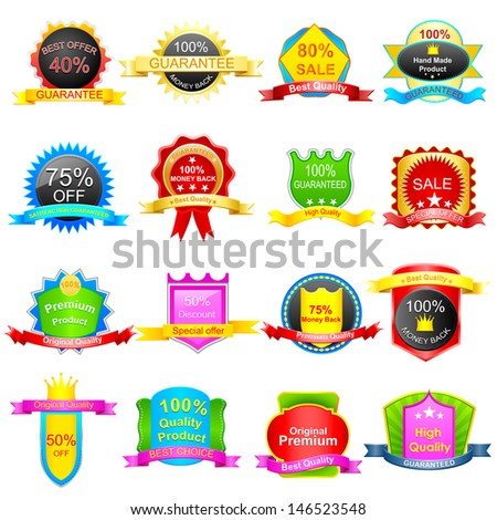 easy to edit vector illustration of easy to edit vector illustration of selliing Tag