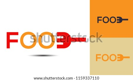 Eat and Food creative logo design 5