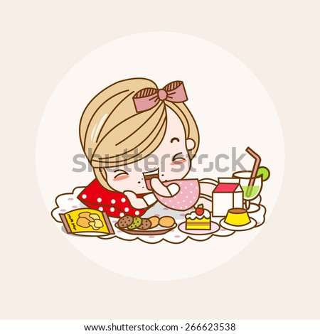 Eating / Eating Vector / Eating Illustration / Eating Picture / Eating Drawing / Eating Image / Eating Graphic / Eating Art / Eating Print / Eating JPG / Eating JPEG / Eating EPS / Eating AI - stock vector