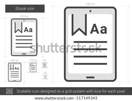 Ebook Icon Stock Photos, Royalty-Free Images & Vectors - Shutterstock