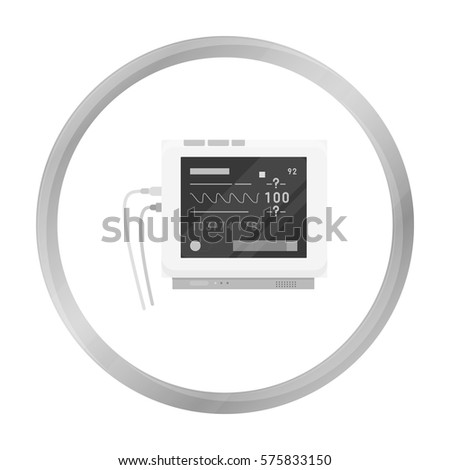 ecg machine stock images royalty images vectors shutterstock ecg machine icon monochrome single medicine icon from the big medical healthcare monochrome