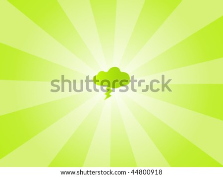 Eco Friendly Vector Background