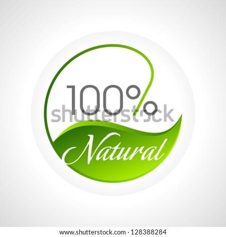 eco friendly website icon - stock vector
