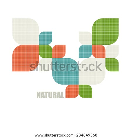 Eco icon. Ecology logo with green leaves. Vector sign. - stock vector