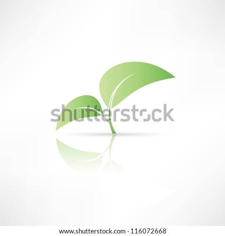 Eco symbol. - stock vector