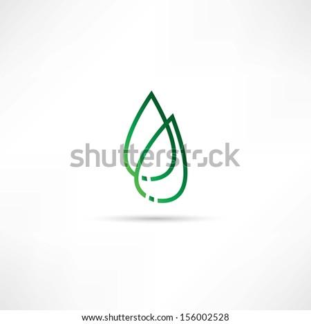 ecologi icon - stock vector