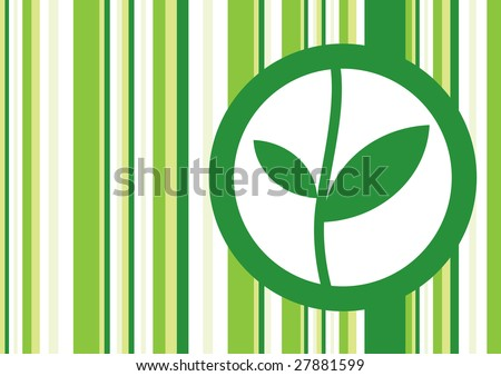 Ecology background - stock vector