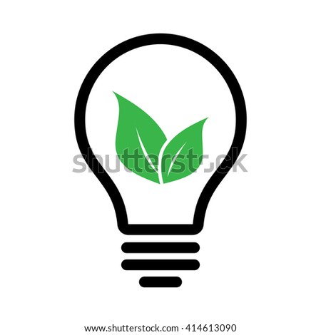 ecology black lamp tube green leaf