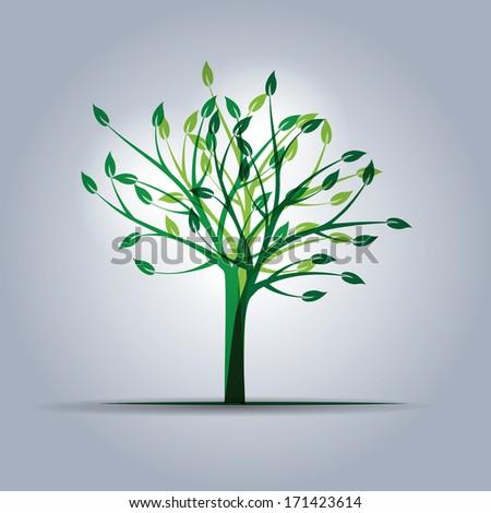 ecology element - stock vector