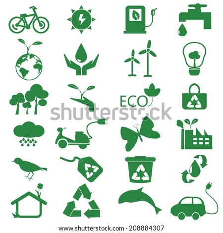 ecology green icon