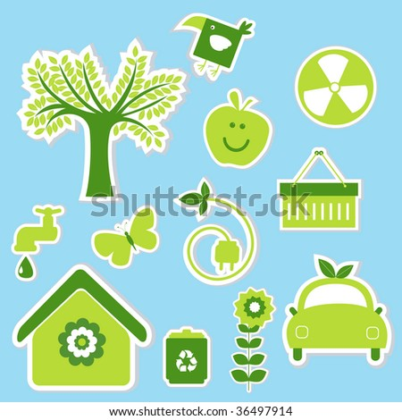 ecology stickers