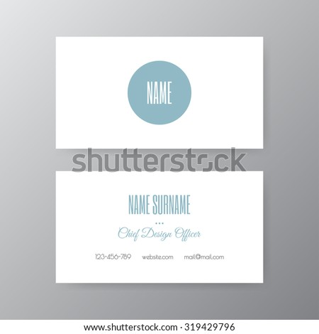 Editable business card set 85 x stock vector 319429796 shutterstock editable business card set 85 x 55 mm stylish professional and designer business card reheart Choice Image